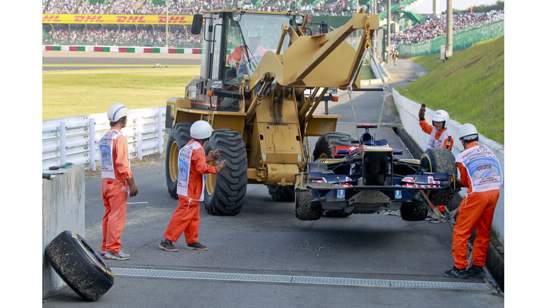 Sebastien Buemi Toro Rosso GP Japan 2011