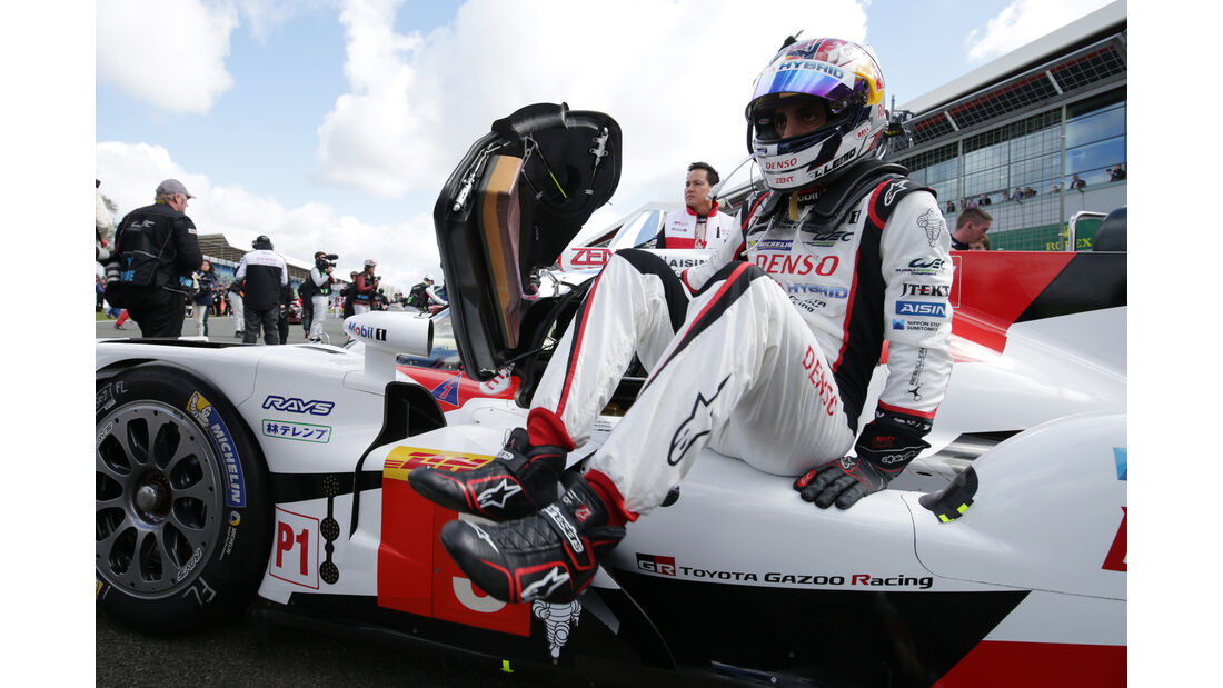 Sebastien Buemi - WEC Silverstone 2016