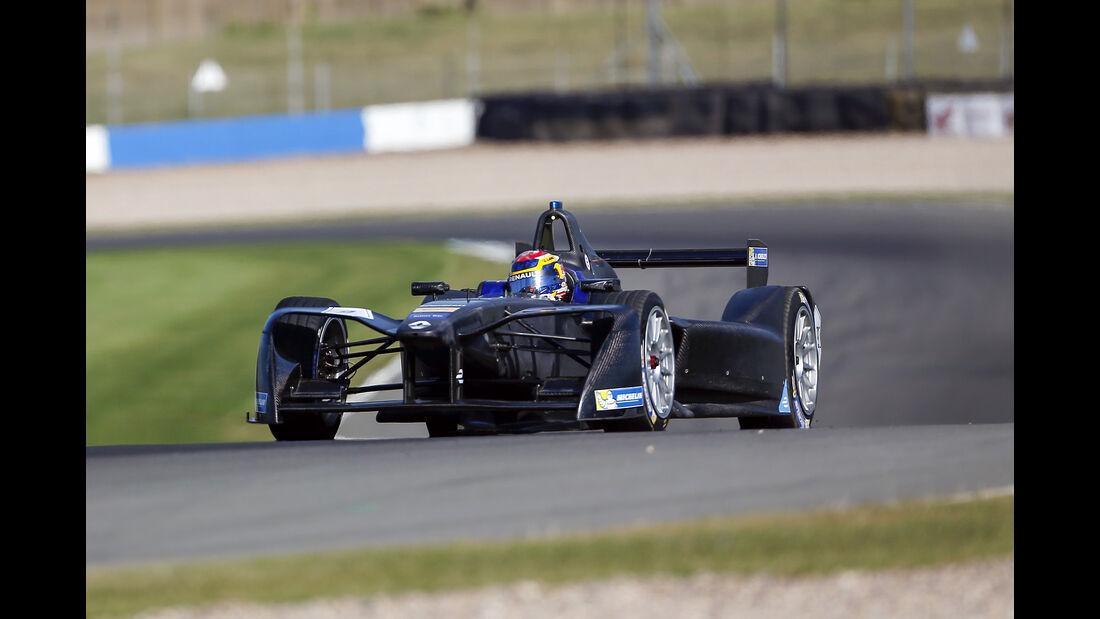 Sebastien Buemi - e.Dams Renault - Formel E Test - Donington - 2016