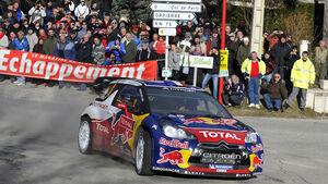 Sebastien Loeb Citroen Rallye Monte Carlo 2012