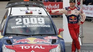 Sebastien Loeb Rallye GB Wales Weltmeister
