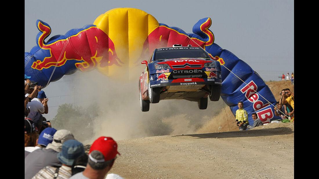 Sebastien Loeb, Rallye Griechenland 2008, Rallye-Sprünge