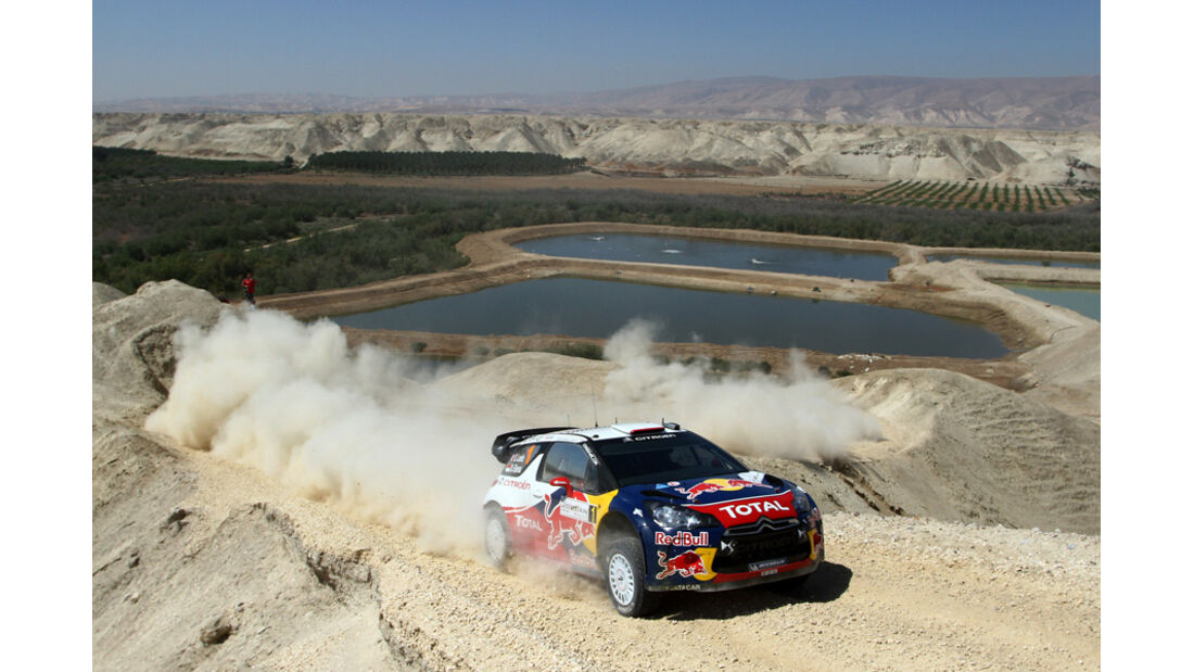 Sebastien Loeb - Rallye Jordanien 2011