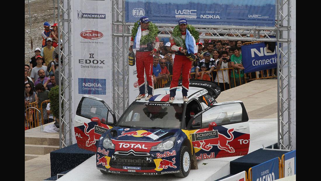 Sebastien Loeb rallye Akropolis Griechenland 2012