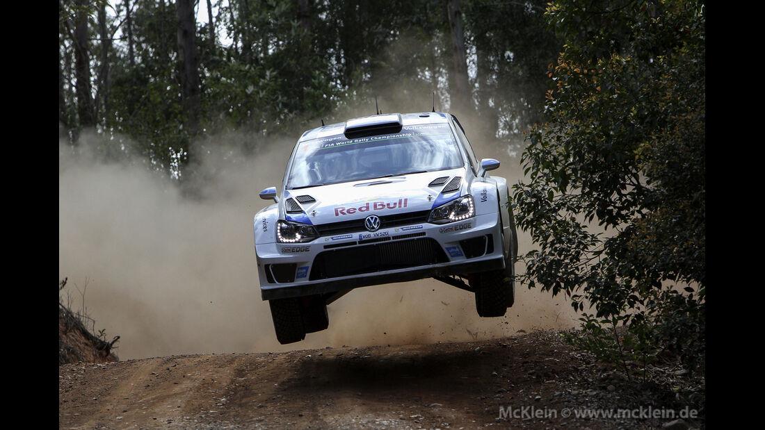 Sebastien Ogier - Rallye Australien 2014