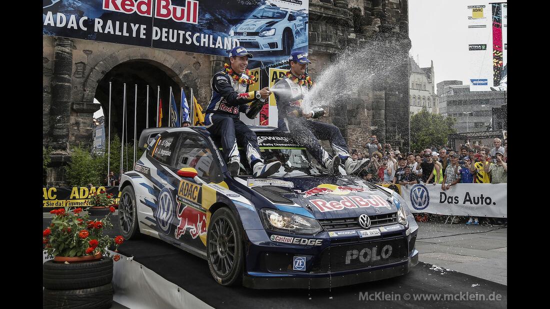 Sebastien Ogier - Rallye Deutschland 2015