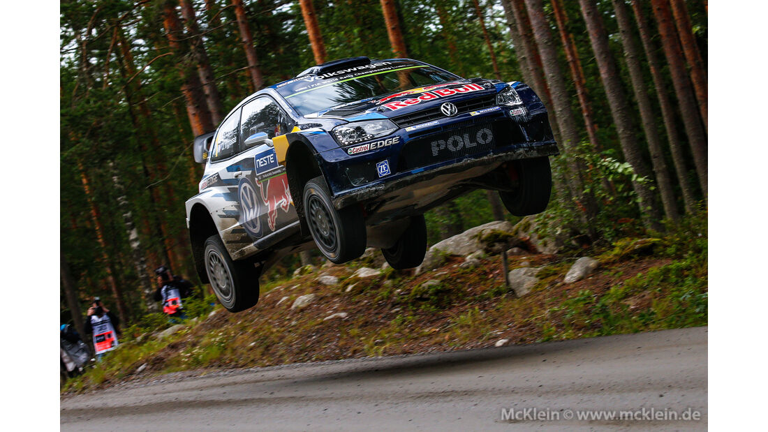 Sebastien Ogier - Rallye Finnland 2015