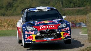 Sebastien Ogier Rallye Frankreich