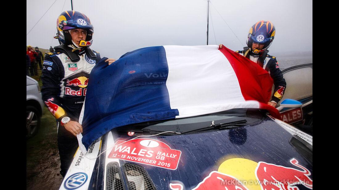 Sebastien Ogier - Rallye GB 2015