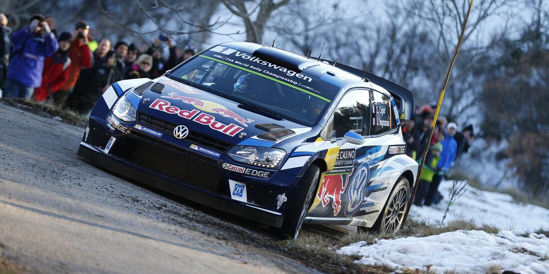 Sebastien Ogier - Rallye Monte Carlo 2016