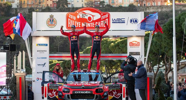 Sebastien Ogier - Rallye Monte Carlo 2019