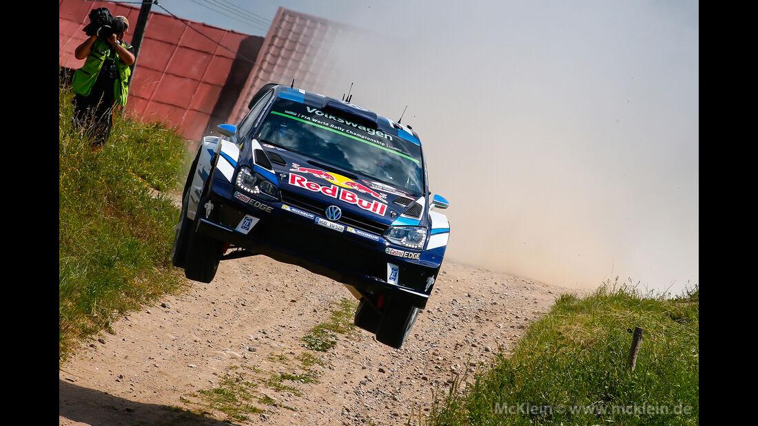 Sebastien Ogier - Rallye Polen 2016