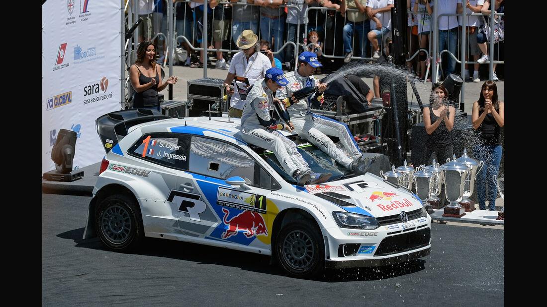 Sebastien Ogier - Rallye Sardinien 2014