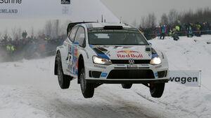 Sebastien Ogier - Volkswagen - Rallye Schweden 2014