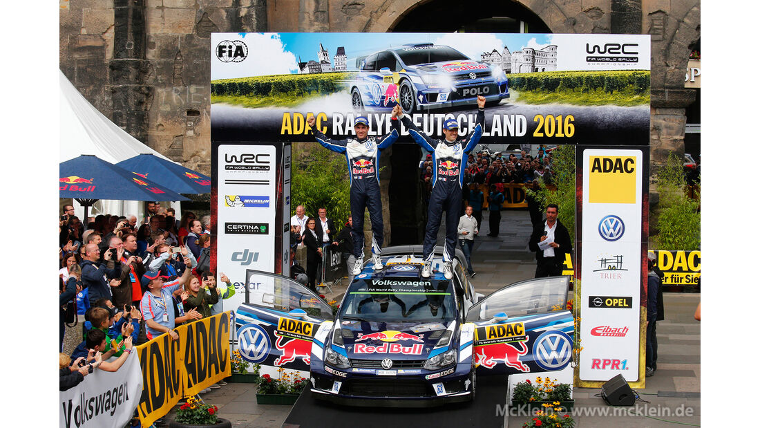 Sebastien Ogier - WRC - Rallye Deutschland 2016