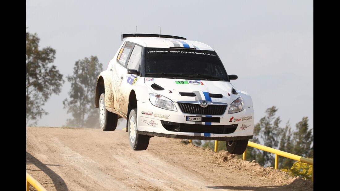 Sebastien Ogier WRC Rallye Mexiko 2012