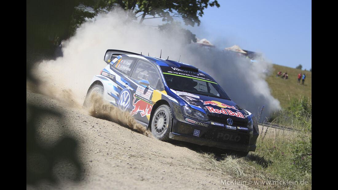 Sebastien Ogier - WRC Rallye Polen 2015
