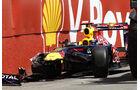 Sebastien Vettel GP Kanada Crashs 2011