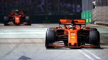Sebstian Vettel - GP Singapur 2019