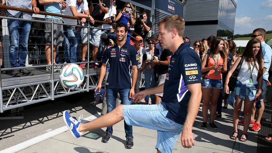 Sebstian Vettel - GP Ungarn 2014