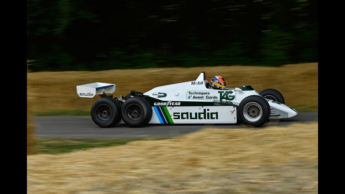 Sechsrad-Williams FW08B von 1982