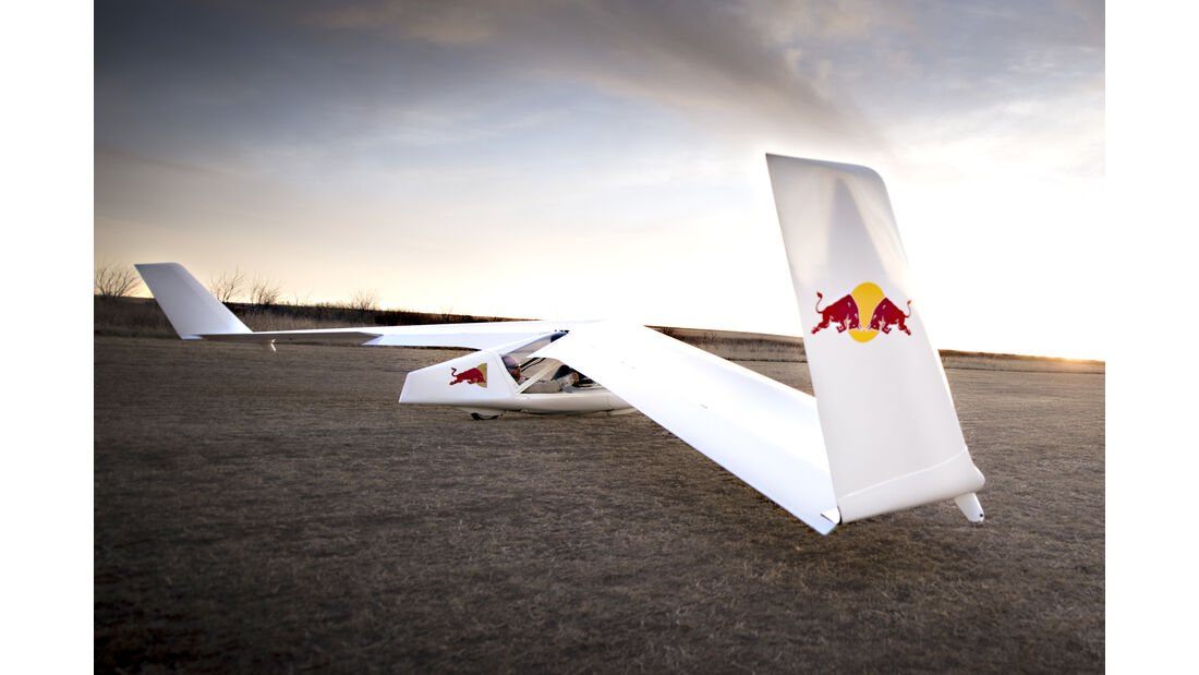 Segelflugzeug - Red Bull