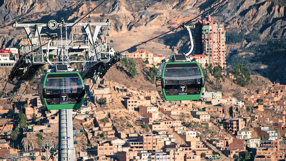 Seilbahnen, Verkehr, La Paz