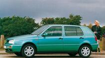 Seitenansicht VW Golf III