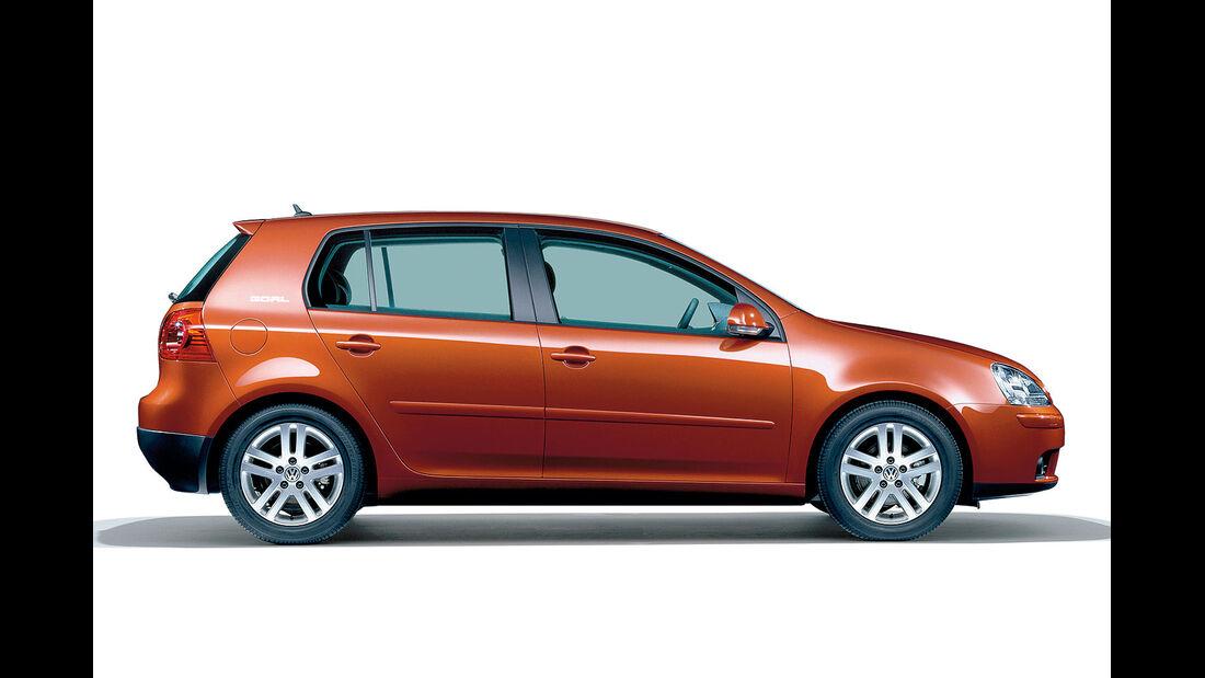 Seitenansicht VW Golf V