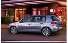 Seitenansicht VW Golf VI