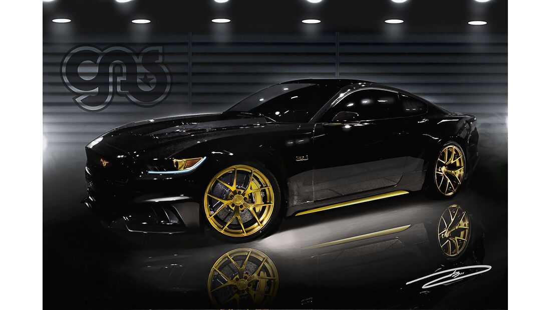 Sema-Show 2014 - Galpin Auto Sports Ford Mustang