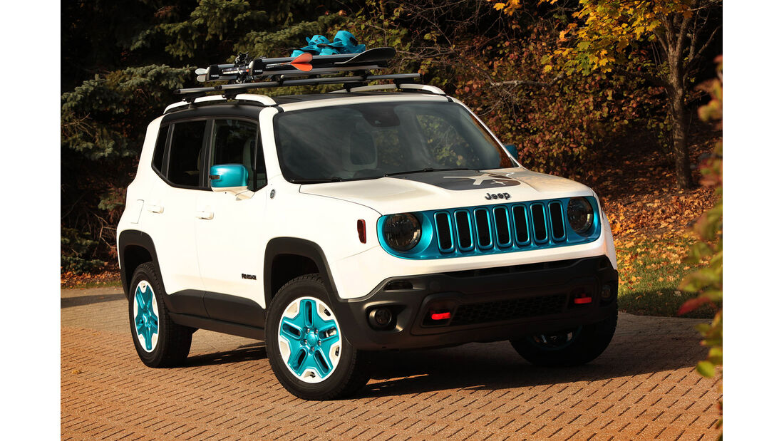 Sema-Show 2014 - Jeep Renegade Frostbite