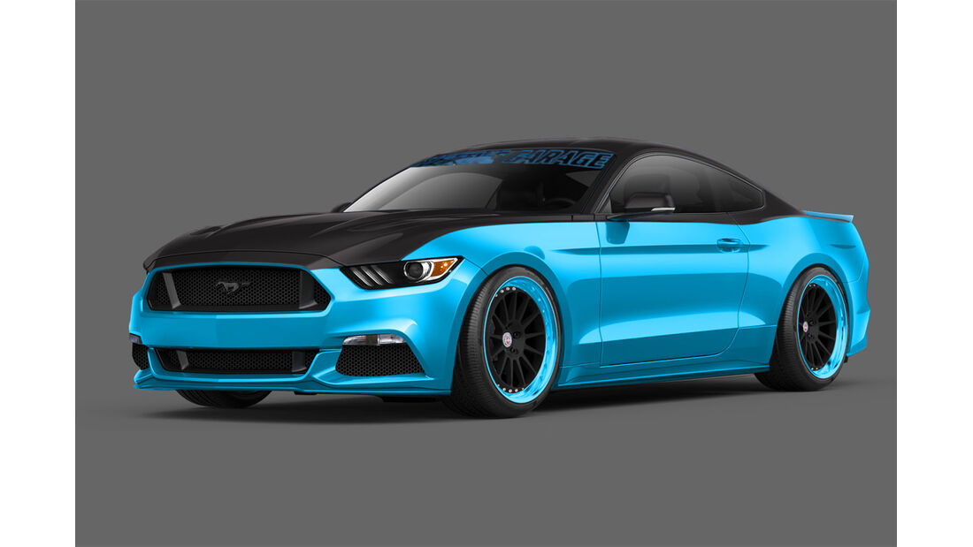 Sema-Show 2014 - Petty's Garage Ford Mustang
