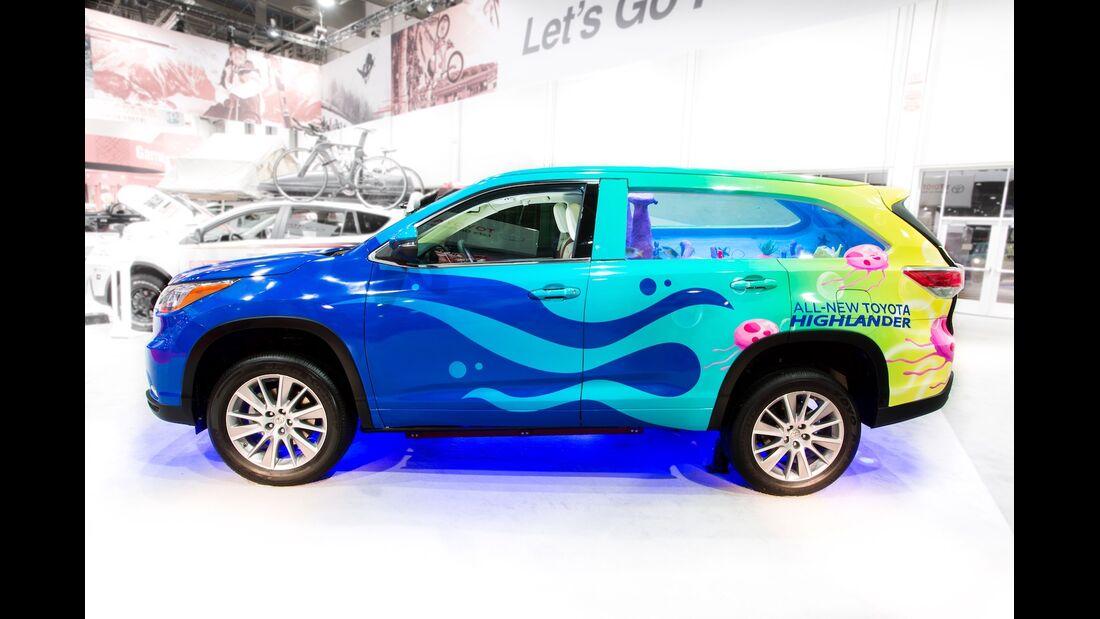 Sema Show Toyota Highlander Spongebob