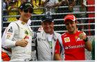 Senna, Barrichello & Massa GP Brasilien 2011