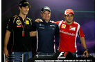 Senna, Barrichello & Massa - GP Brasilien - 24. November 2011