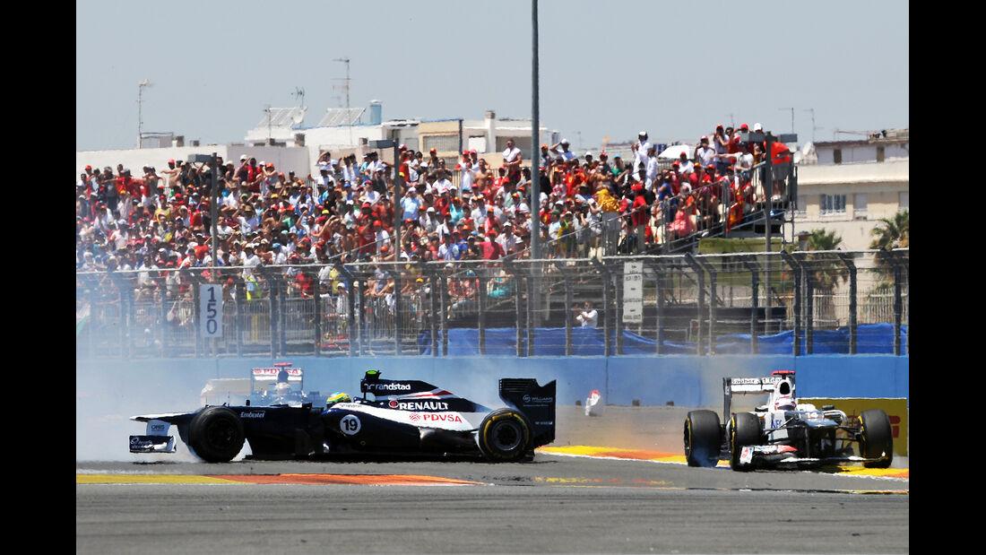 Senna Crash GP Europa 2012