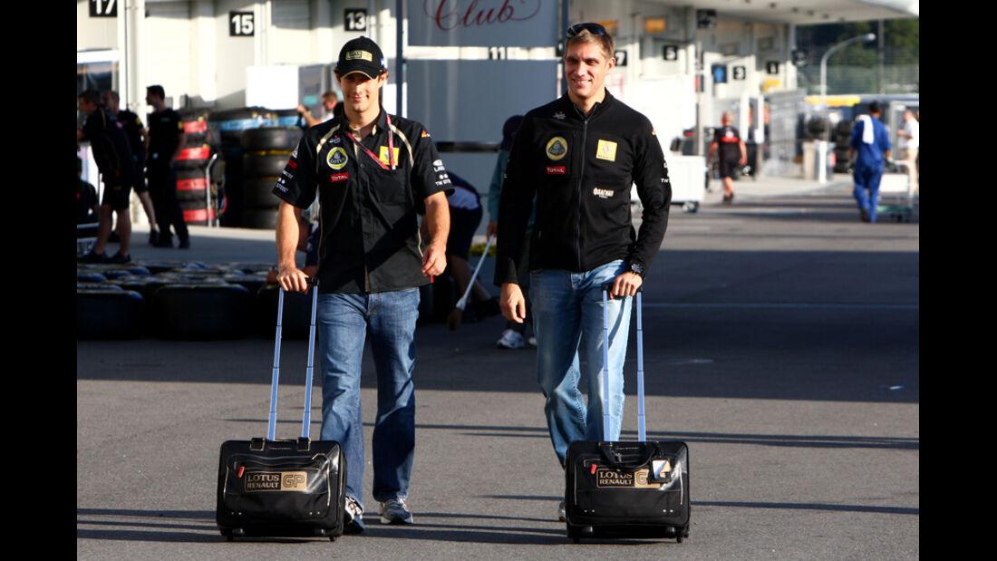 Senna & Petrov - GP Japan - Suzuka - 6. Oktober 2011