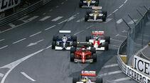 Senna Prost Alesi Berger GP Monaco