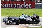 Senna & Rosberg GP Italien 2012