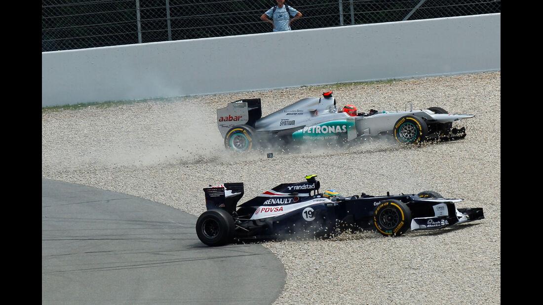 Senna & Schumacher GP Spanien 2012