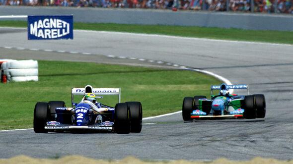 Senna & Schumacher - Imola 1994