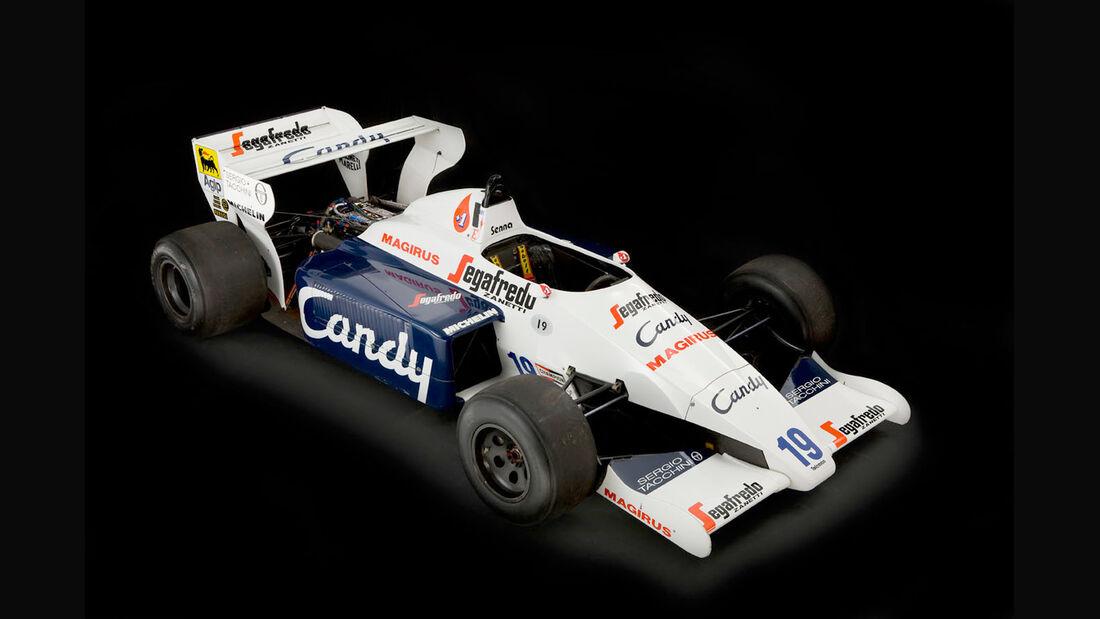 Senna Toleman TG184 1984 Auktion