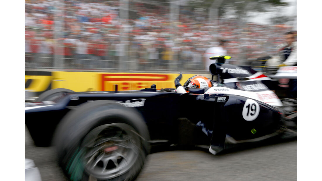 Senna Williams GP Brasilien 2012