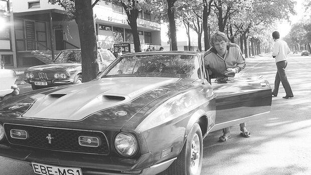 Sepp Maier Mustang Mach 1