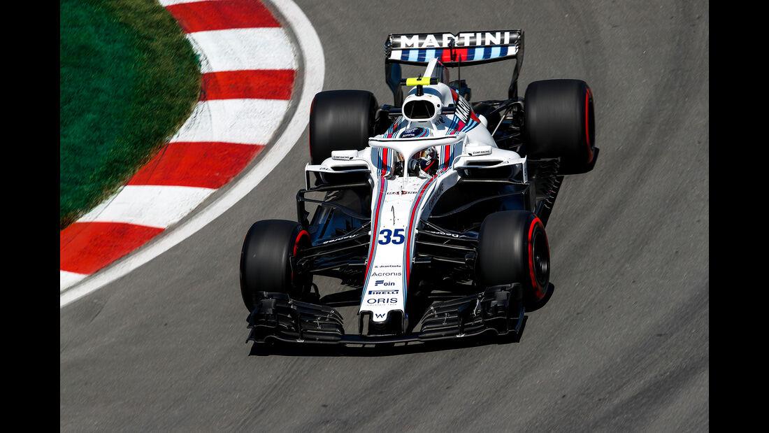 Sergey Sirotkin - Formel 1 - GP Kanada 2018