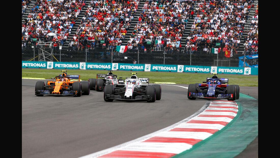 Sergey Sirotkin - Formel 1 - GP Mexiko 2018