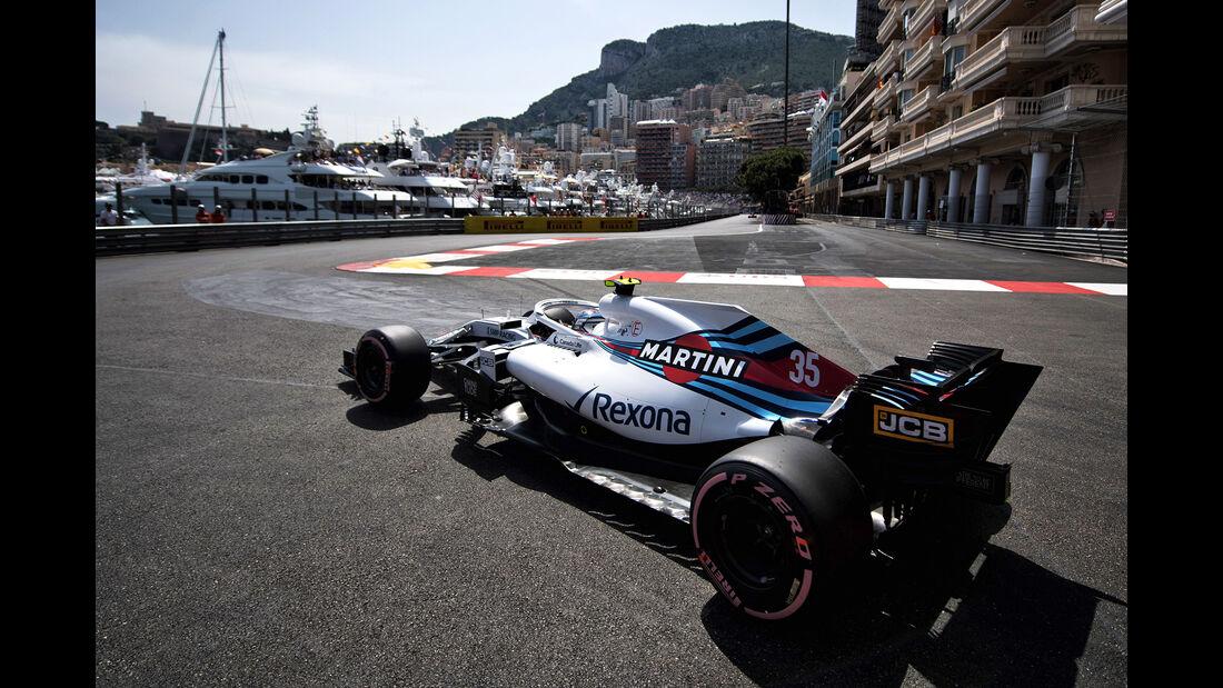 Sergey Sirotkin - Formel 1 - GP Monaco 2018