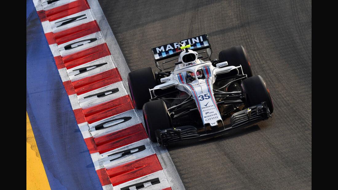 Sergey Sirotkin - GP Singapur 2018