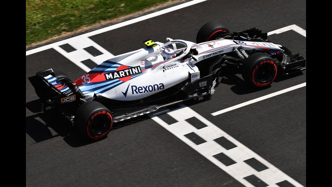Sergey Sirotkin - GP Spanien 2018